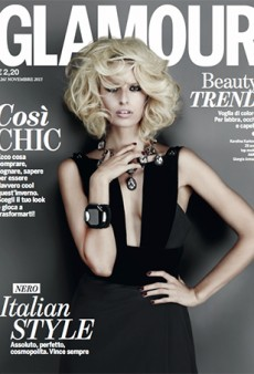 Karolina Kurkova for Glamour Italia: 'She Kind of Looks Like Jessica Simpson on the Cover' (Forum Buzz)
