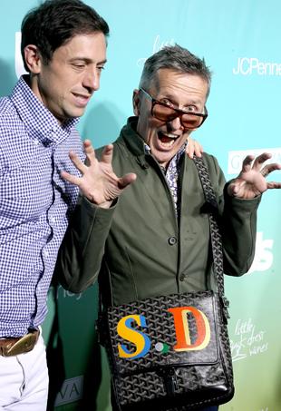 Jonathan Adler and Simon Doonan, image: WENN