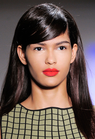 How To Create No Commitment Fake Bangs Thefashionspot