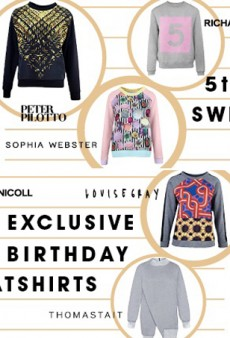 Westfield London Celebrates 5th Anniversary with High Fashion Sweatshirts