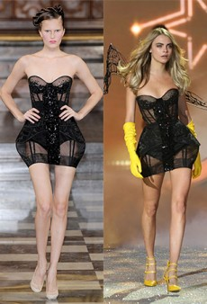 What Are These Antonio Berardi Pieces Doing at the Victoria's Secret Show?