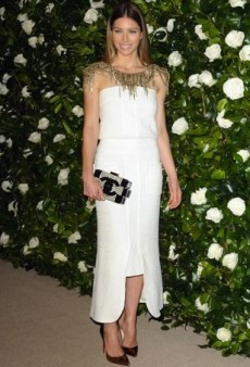 Jessica Biel Brilliantly Tops Off Her Chanel Resort 2014 Dress and Other Best Dressed Celebs of the Week
