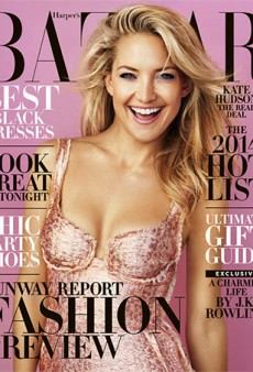 Harper's Bazaar Hires Someone Besides Terry Richardson to Photograph the December Cover