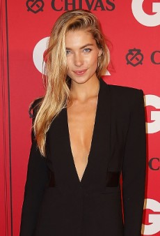 Jessica Hart Demonstrates the Easiest Work-to-Party Outfit Ever