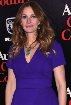 Julia Roberts Brightens Up the Red Carpet in a Purple Proenza Schouler Dress