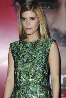Kate Mara Steps Out for Her Sister's Premiere in a Leaf-Themed J. Mendel Ensemble