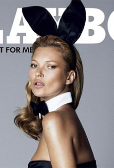 The Kate Moss Playboy Cover Has Arrived