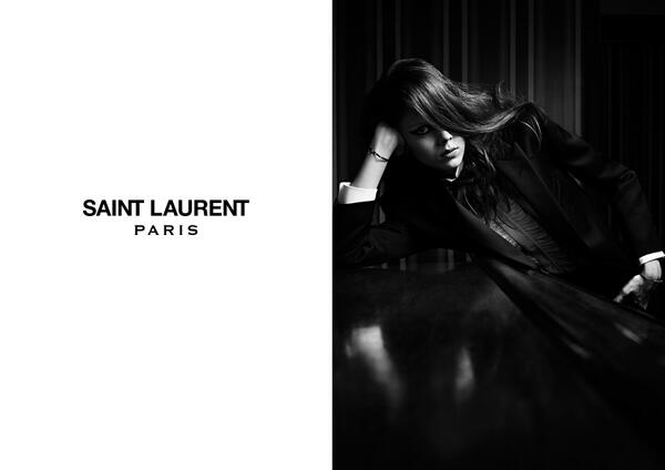 Saint Laurent Spring 2014 Campaign / via YSL Twitter