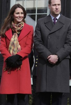 Channel Kate Middleton's Festive Red Coat Look