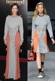 Runway to Real Life: Naya Rivera in Michael Kors, Kristen Wiig in Prada and More (Forum Buzz)