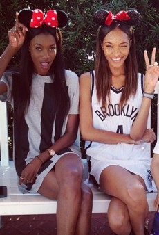 Jourdan Dunn Goes to Disneyworld and Other Celeb Twitpics of the Week