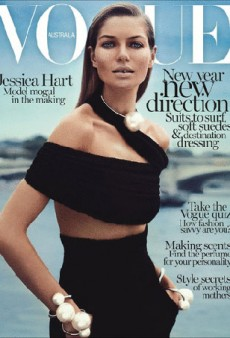 Jessica Hart's New Vogue Australia Cover is 'Gorgeous' and 'Refreshing'