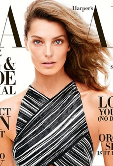 The Return of the Supermodels: Daria Werbowy Covers Harper's Bazaar