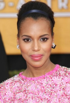 Play with Pastel and Get Kerry Washington's Pretty Makeup Look at Home