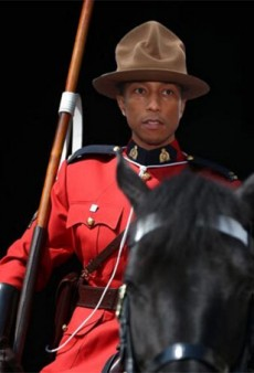 Pharrell's Mountie Head Topper Launches a Thousand Post-Grammys Memes