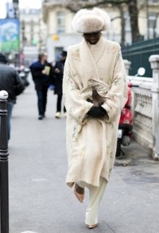 What They're Wearing: Haute Couture Spring 2014 Street Style