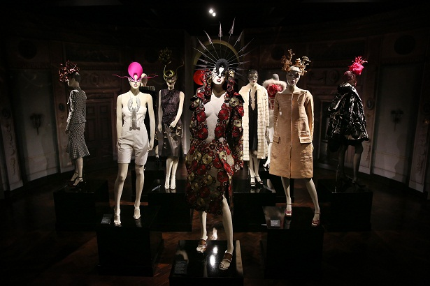 Final Touches Made To Isabella Blow: Fashion Galore!, A New Somerset House Exhibition