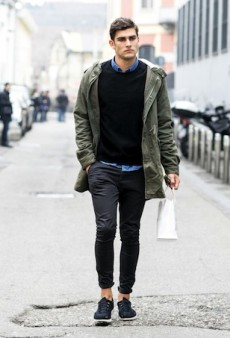 (Crazy-Cute) Male Models Off Duty: Milan Men's Fashion Week