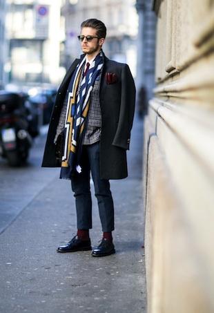 milan mens street portrait