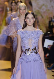 Zuhair Murad Haute Couture Eyes the Red Carpet with Nude Fabrics and Embroidery