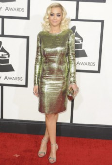 Rita's Jewel Induced ORAgasm at the Grammy After-Show Party