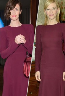 Style Showdown: Paz Vega and Cate Blanchett Break Out the Bordeaux Courtesy of Gucci and More Matching Celebs