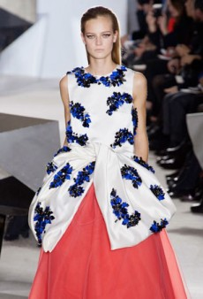 Giambattista Valli Wows Yet Again With Killer Mini Dresses and Strapless Gowns
