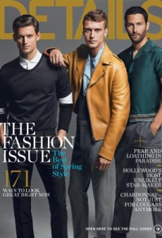 The March Cover of Details Features All of Your Favorite Male Models (Forum Buzz)