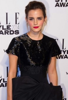 Emma Watson Takes an Angular Approach in Giambattista Valli Couture