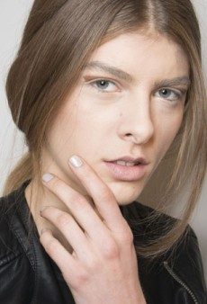 'Arftful and Interesting' Beauty Backstage At Sally LaPointe Fall 2014
