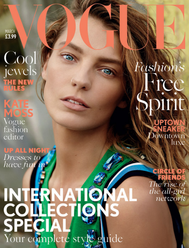 Vogue-March cover daria 620