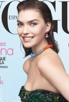 A Gleeful Arizona Muse Covers Vogue Spain's March Issue (Forum Buzz)