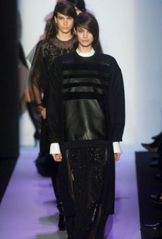 BCBGMaxAzria Says Fur, Leather and Comfort Are In for Fall 2014 (Runway Review)