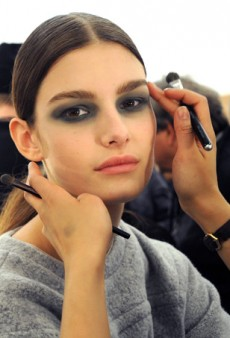 Backstage Beauty Report: A Surprisingly Charming Black Eye at Derek Lam Fall 2014