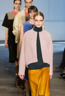 Derek Lam Fall 2014: A Cozy, Clean-Lined Collection with a Hint of Sex Appeal (Runway Review)