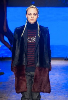 DKNY Fall 2014: Not Always the Most Cohesive or Wearable (Runway Review)