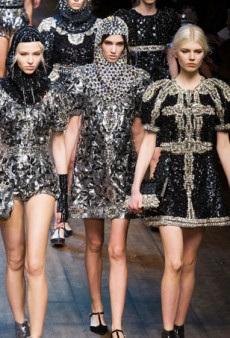 Dolce & Gabbana Goes Whimsical for a Fairytale-Inspired Fall 2014 Collection (Runway Review)
