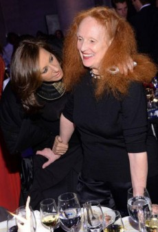 'Donna Karan Got Stuck in Grace Coddington's Hair' and More Fashion Tweets from Today's #NYFW
