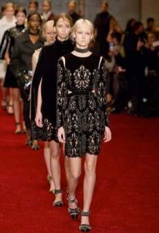 Deconstructed Structure at Erdem Fall 2014 (Runway Review)