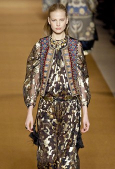 A Parade of Paisley for Etro's Fall 2014 Collection (Runway Review)