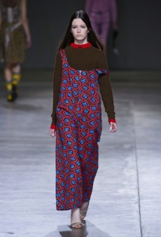 Louise Alsop, Helen Lawrence and Ashley Williams Show at Fashion East Fall 2014 (Runway Review)