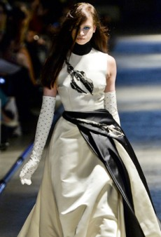Plenty of Buzz for Giles' Fall 2014 Collection Thanks to Kendall Jenner (Runway Review)