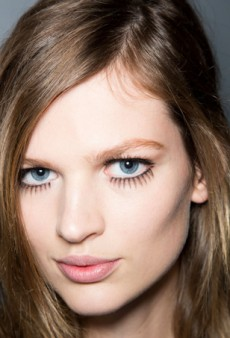 Beauty Report: Lashes and Liner at Gucci Fall 2014