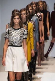 Gucci Shows a Spring Palette and Lots of Leather for Fall 2014 (Runway Review)