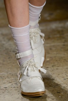 Fashion Week Trendspotting: Socks Are Cool Again