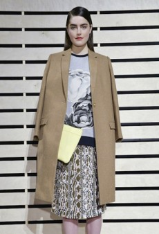 J. Crew Fall 2014: The Usual Mix of Colors, Patterns and Textures (Runway Review)