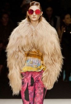 Just Cavalli is Really Feeling Fringe for Fall 2014 (Runway Review)