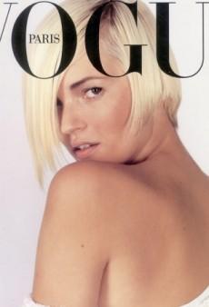 Flashback: A Platnium Blonde Kate Moss Covers Vogue Paris February 2001