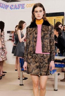 Markus Lupfer Opens a Namesake Cafe for Fall 2014 (Runway Review)