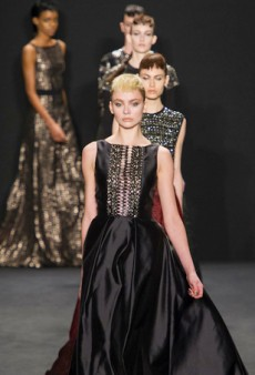 Carmen Marc Valvo's Game of Thrones Moment for Fall 2014 (Runway Review)